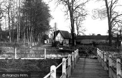 Figheldean, View From The Bridge c.1955