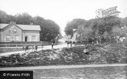 Filey, Beach 1897