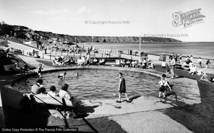 Photo of Filey, Boating Pool c.1960