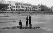 Filey, Children On The Beach 1895
