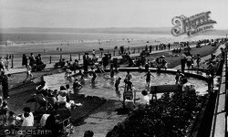 Filey, Children's Paddling Pool c.1960