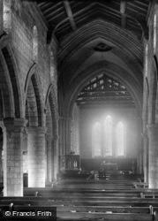 Church Interior East 1890, Filey