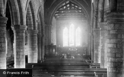 Filey, Church, Interior East 1890