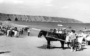 Filey, Coble Landing c.1960