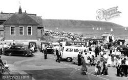 Coble Landing c.1960, Filey