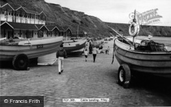 Filey, Coble Landing c.1960