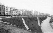 Filey, Crescent 1895
