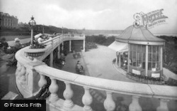 Filey, Crescent Gardens And Bandstand 1927