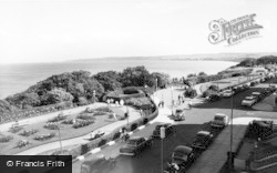 Filey, Crescent Gardens c.1960