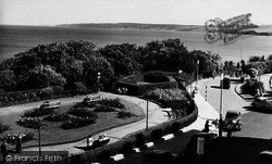 Filey, Crescent Gardens, Looking South c.1960