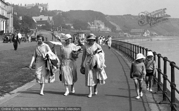 Filey, Fashion 1932