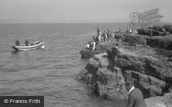 Fishing On The Brigg c.1932, Filey