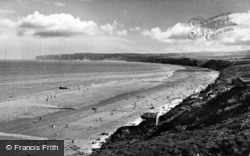 Filey, Flamborough Head, Primrose Valley c.1955