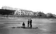 Filey, From The Sands 1895