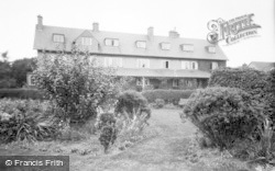 Filey, Linkfield Guest House, From Garden c.1935