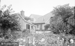 Filey, Linkfield Guest House, The Garage c.1935