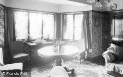 Filey, Linkfield Guest House, The Lounge c.1932