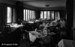 Filey, Linkfield Hotel, Dining Room, Primrose Valley c.1950
