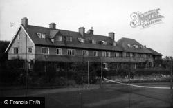 Filey, Linkfield Hotel, From The Croquet Lawn, Primrose Valley c.1950