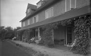 Filey, Linkfield, The Veranda c.1935