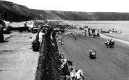 Filey, North Beach c.1960