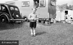 Primrose Valley, A Little Boy 1951, Filey