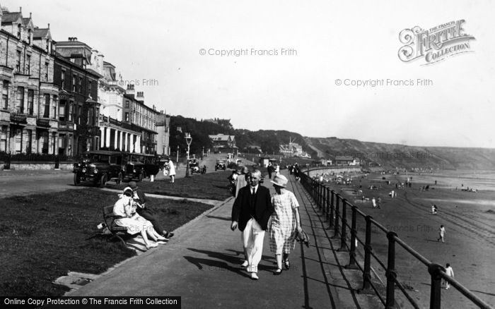 Photo of Filey, Promenade, The Anchorage 1927