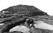 Filey, Rocks On The Brig 1927