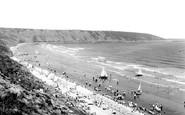 Filey, The Beach c.1950