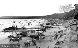 The Beach c.1955, Filey