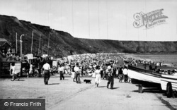 Filey, The Beach c.1955