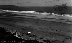 Filey, The Beach c.1960