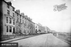 Filey, The Crescent 1890