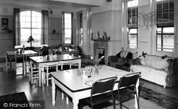 The Dining Room, Rotherham And District Children's Convalescent Home, Primrose Valley c.1960, Filey