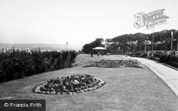 Filey, The Gardens c.1960