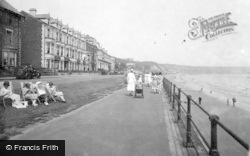 Filey, The Promenade 1932