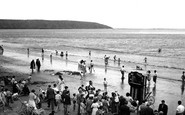 Filey, The Punch And Judy Show c.1960