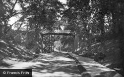 Filey, The Ravine 1927