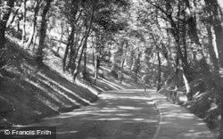 Filey, The Ravine 1950