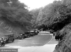 The Ravine c.1932, Filey