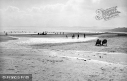 Filey, The Sands 1950