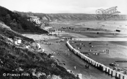 Filey, The Sands And Bathing Tents 1927