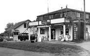 Filey, the Shop and Cafe, Primrose Valley c1955