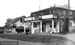 The Shop And Cafe, Primrose Valley c.1955, Filey