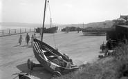 Filey, The Slip Way c.1932