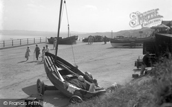 The Slip Way c.1932, Filey
