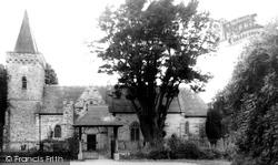 St Paul's Church c.1955, Filleigh