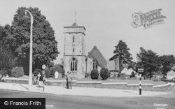 Filton, St Peter's Church c.1955