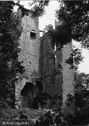 Finavon, Castle 1954