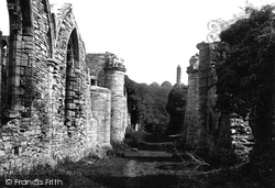 Finchale Priory, 1892